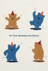 Good Paper Dancing Bears Bithday