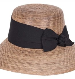 Tula Hats Somerset Black Bow