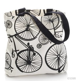 SERRV Bicycle Print Tote