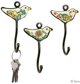 SERRV Little Bird Hook Each