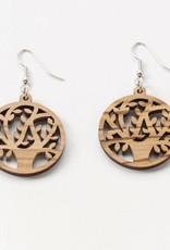 SERRV Olive Wood TOL Earrings