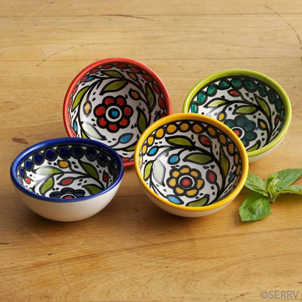 SERRV Hand-Painted Dipping Bowl