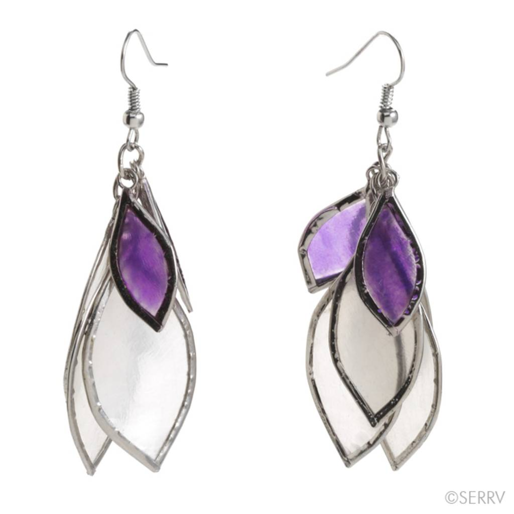 SERRV Seven Leaf Earrings