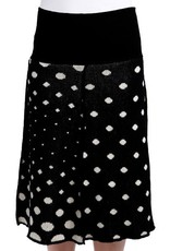 Green 3 Apparel Polka Dot 4 panel Skirt
