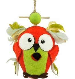 dZi Crazy owl birdhouse