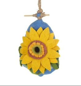 dZi Sunflower Birdhouse