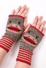 Green 3 Apparel Sock Monkey Handwarmers