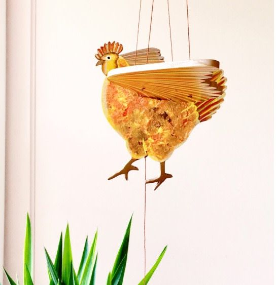 Tulia's Artisan Gallery Rooster Mobile