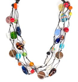 Matr Boomie Tribal Art Necklace
