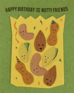 Good Paper Nutty Friends BDay