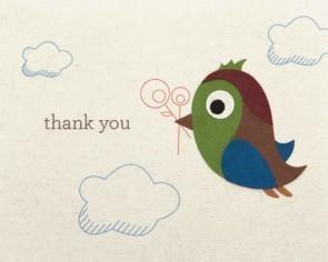 Good Paper Thank You Birdie
