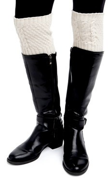 Green 3 Apparel Natural Cotton Cable Boot Cuff