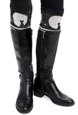 Green 3 Apparel Cat Moon Boot Cuff