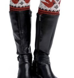 Green 3 Apparel Cardinal Boot Cuffs