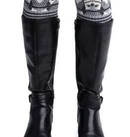 Green 3 Apparel Repeating Owl Boot Cuff