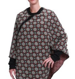 Green 3 Apparel Snowflake Poncho