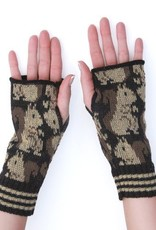 Green 3 Apparel Repeating Squirrel Handwarmers