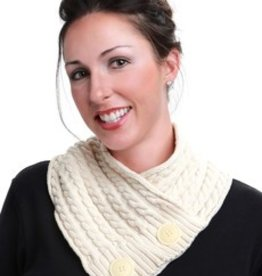 Lightspeed Natural Cotton Cable Neckwarmer