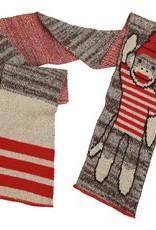 Green 3 Apparel Sock Monkey Stripe Tee Scarf