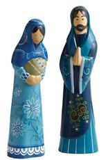 SERRV Heavenly Blue Nativity