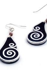 Aluminum Inlay Earrings