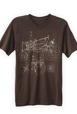 Green 3 Apparel Tractor Blueprint