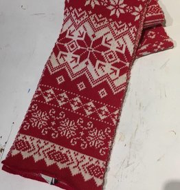 Green 3 Apparel Nordic Scarf - red combo
