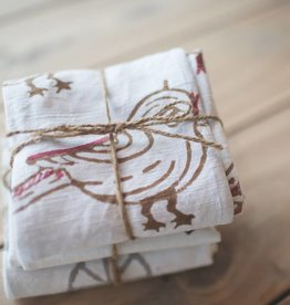 Liz Alig Bird Printed Towels