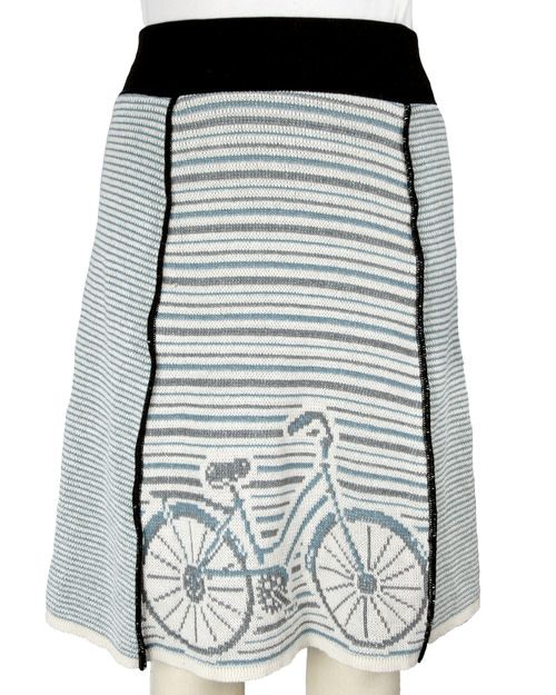 Green 3 Apparel Bicycle 4-Panel Skirt