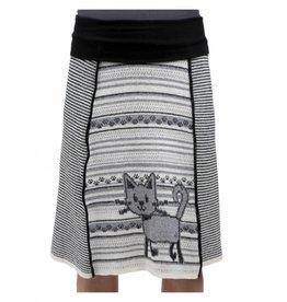 Green 3 Apparel Kitty 4-Panel Skirt