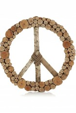 SERRV Layered Peace Wreath