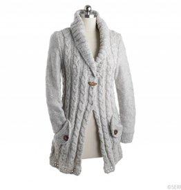 Natural Wool Cardigan
