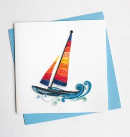 Colorful Sailboat