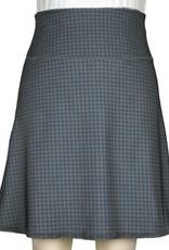 Green 3 Apparel Floral Damask & Houndstooth Reversible Sport Skirt