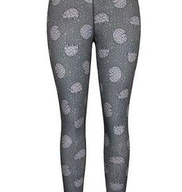 Green 3 Apparel Hedgehog & Roses Reversible Leggings