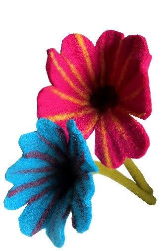 Ganesh Himal Large Felted Flower