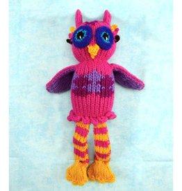 Pink Owl Dandy Doll