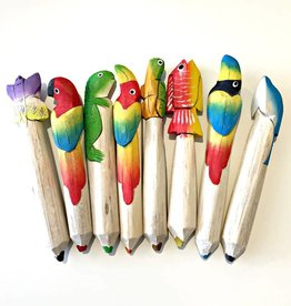 Animal Balsa Crayon Bundle