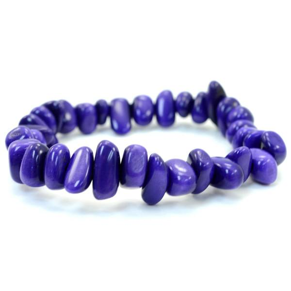 Rock Stretch Tagua Bracelet