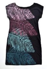 Tshirt Dress w/Ferns