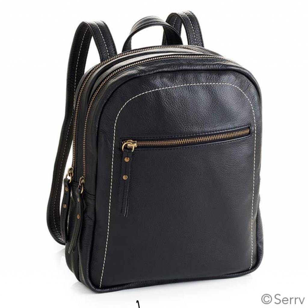 SERRV Black City Backpack