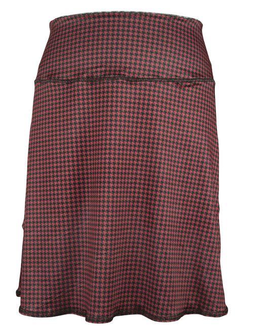 Green 3 Apparel Cat & Houndstooth Reversible Sport Skirt