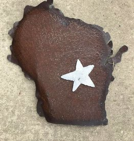 Rusty Wisconsin w/ Magnet
