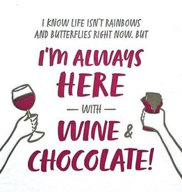 Good Paper Wine and Chocolate