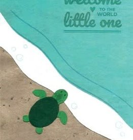 Good Paper Baby Turtle Congrats