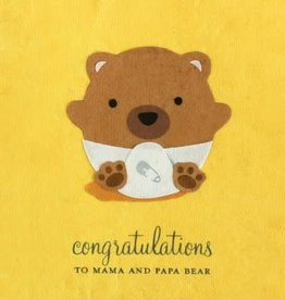 Good Paper Baby Bear Congrats
