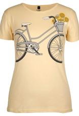 Green 3 Apparel Bicycle Tee on Yellow