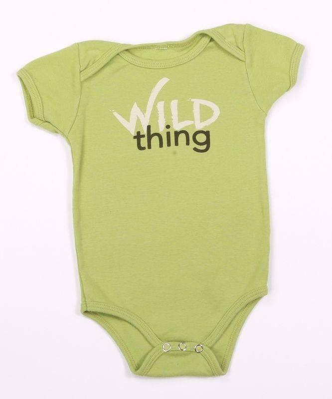 Green 3 Apparel Wild Thing Onesie