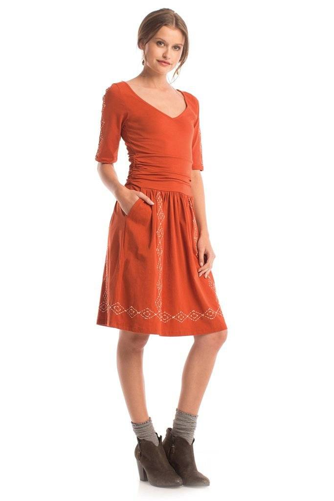 Synergy Diamond Stitch Marcy Dress