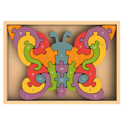 Butterfly A to Z Puzzle